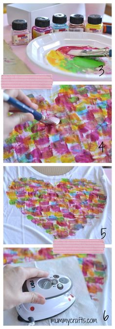 Como pintar una camiseta paso a paso