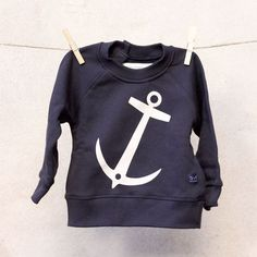 anchor Sweatshirt by emma & malena, available at www.nordliebe.com