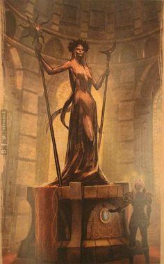 The Elder Scrolls: Online -Azura. Concept Art.© ZeniMax Online