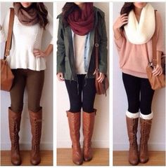 Cute Outfits With Jean Jackets   jacket girly outfits tumblr all cute outfits blouse jeans scarf shoes ...