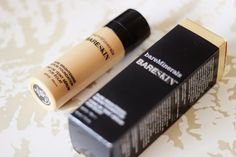 bare minerals bareskin foundation bare buff 10 swatch review