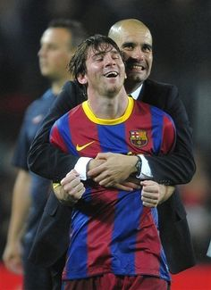 Leo Messi was too sad to attend Pep Guardiola's farewell press conference