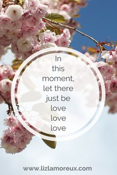 Let there just be love. :: Click through for a simple meditation to practice today.