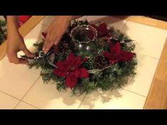 Has tu propio centro de mesa Navideño (super fácil) - YouTube
