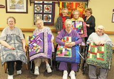 Abilene App News: Village Manor Valentine's Party Lap Robe Winners