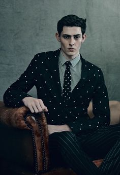 Rhys Pickering ph Paolo Roversi - AnOther Man F/W 14.15
