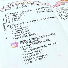Inspired by @logthatlife, I decided to jot down some notes on what I want to do differently in my #bulletjournal in June as well as other pages I want to include. It's nice to have all this info in one place and I'm thinking this might be an idea to try every month. // #bulletjournaling #bulletjournaljunkies #bulletjournalcommunity #bujo #bujojunkies #leuchtturm1917 #planner #planneraddict #plannercommunity #widn #may #love