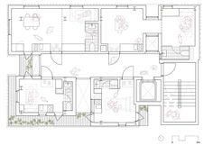 Alternativamente la segunda planta se puede usar como apartamentos: incluso pensando que solo hay dos tipos de unidades. Songpa Micro Housing por SsD. Fotografía © SsD. Señala encima de la imagen para verla más grande.