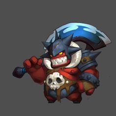 西音那对此图片选择了版权保护,您无法查看原图。 Monster Characters, Chibi Characters, Cute Characters, Fantasy Characters, Game Character Design, Character Concept, Character Art, Concept Art, Fantasy Monster