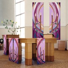Advent Hangings and Altar Scarves