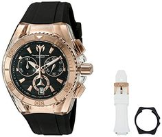 Men's Wrist Watches - Technomarine Cruise Star Swiss Quartz Stainless Steel Casual Watch Model TM115045 -- Read more at the image link.