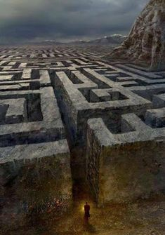 Wilderness Maze Stone labyrinth around the Reapers Hilltop Retreat story med Fantasy Places, Fantasy World, Dark Fantasy, Fantasy Inspiration, Story Inspiration, Story Ideas, Travel Inspiration, Labyrinth Maze, Plakat Design