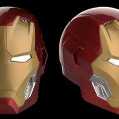 Printable Model: Hela Headdress Helmet from Thor Ragnarok Marvel Comics, Marvel Heroes, Suits Series, Iron Man Helmet, Iron Man Art, Arc Reactor, 3d Printable Models, Avengers Age, Marvel Wallpaper