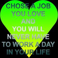 Cintailah Pekerjaan Yang Anda lakukan