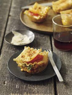 Lasagna+Cupcakes+-+Read+More+at+Relish.com