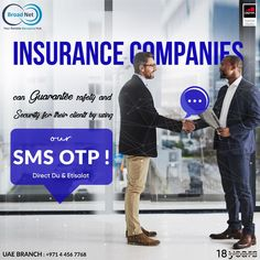 Insurance companies can guarantee safety and security for their clients by using Broadnet SMS OTP ! Email: sales@broadnet.me UAE branch : +971 4 456 7768 #SMS #SMSmarketing #UAE #SMSOTP #messages #Digitalmarketing #الامارات_العربية_المتحدة #تسويق Android Application Development, Safety And Security, Otp, Web Design, Technology, Marketing, Tech, Design Web, Tecnologia
