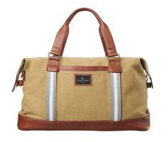 Duffle Bag Weekender Carmel Grey