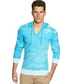 Spring Trends: The bright stuff BAR III #sweater #distressed #mens BUY NOW!