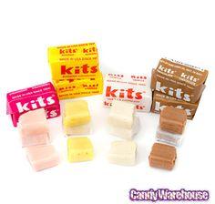Kits Taffy Candy: 100-Piece Box