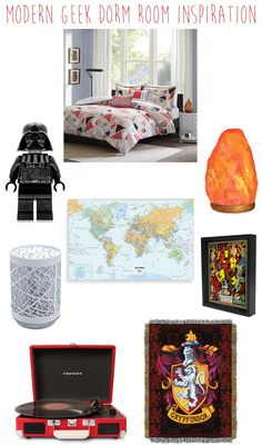 Decorating your dorm room can look like a massive task but we put together four dorm room styles to get your creative juices flowing.