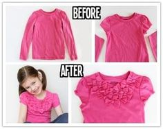 How to turn long sleeves into shorts with added bow front step by step DIY tutorial instructions thumb 512x408 How to turn long sleeves into shorts with added bow front step by step DIY tutorial instructions by Mary Smith fSesz