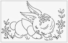 Hudson's Holidays - Designer Shirley Hudson: Sleeping bunny...freebie