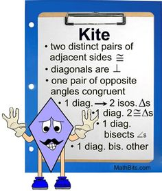 PDF: Geometry - trapezoids, kites, rhombuses | Projects to Try ...