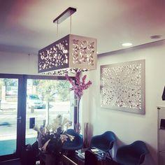 Love Lamp – Chandelier www. Luxury Lighting, Valance Curtains, Sculptures, Gallery Wall, Chandelier, Wall Art, Interior Design, Frame, Handmade
