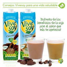 La única con más sabores para elegir. ¡Disfruta de los beneficios de la #soja!