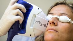 New IPL (intense pulsed light) treatment for dry eyes and Meibomian gland dysfunction at Centre for Sight.