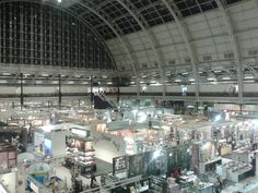 Checking out the huge choice on offer at the Home London show, Kensington Olympia, January 2015