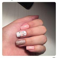 Pretty Nail Art Ideas for 2018 - style you 7 Pretty Nail Art, Cute Nail Art, Nail Art Diy, Cute Nails, Creative Nail Designs, Best Nail Art Designs, Simple Nail Designs, Unicorn Nails Designs, Unicorn Nail Art
