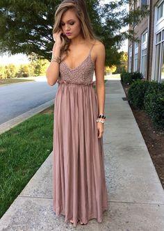 Lace Spaghetti Straps Prom Dress,Long Prom Dresses,Charming Prom Dresses,Evening…