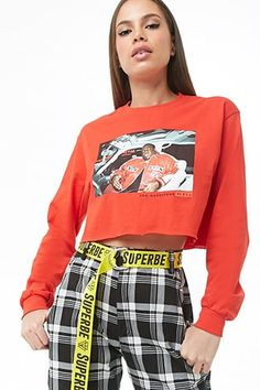 5f3ccbe0 The Notorious B.I.G. Graphic Crop Top Forever 21 New Wardrobe, Wardrobe  Ideas, Graphic Tees