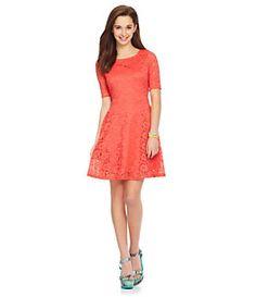 Catch My i Lace Dress | Dillard's Mobile