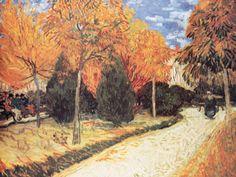 Vincent Van Gogh - Giardino Autunale