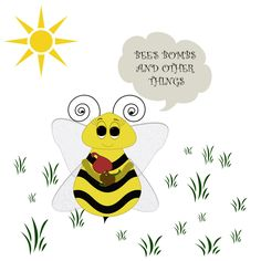 Bee's Bombs and Other Things is a homebased business where I hand make affordable bath products for the entire family.
