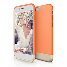iPhone 6 Plus Case, Maxboost® [Vibrance Series] iPhone 6 Plus (5.5) Case [Lifetime Warranty] Protective SOFT-Interior Scratch Protection Metallic Finished Base with Vibrant Trendy Color Slider Style Hard Cases for iPhone 6 Plus (5.5 inch) (2014) - Peaches N' Cream / Champagne Gold, http://www.amazon.com/dp/B00QLDSAOI/ref=cm_sw_r_pi_awdm_5E74vb1AS7FTE
