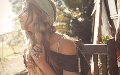 spell & the gypsy collective's deliciousbohemianstyle & some  fatyummy rawamethyst rings