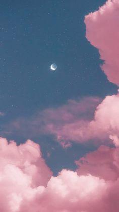 Two moon in the pink sky by matialonsor Mond zwei im rosa Himmel durch matialonsor mir Cloud Wallpaper, Iphone Background Wallpaper, Tumblr Wallpaper, Cellphone Wallpaper, Pink Wallpaper, Galaxy Wallpaper, Nature Wallpaper, Trippy Wallpaper, Unique Iphone Wallpaper
