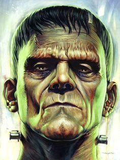 Frankenstein portrait, Jason Edminston