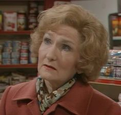 Emily Bishop lodges with Norris, and is great friends with Rita and Audrey. Emily is played by Eileen Derbyshire.