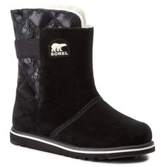 Cipők SOREL - Youth Rylee Camo NY1900-010 Black/Light Bisque