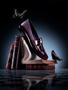 ♂ Masculine & elegance men'e accessories shoes advertising