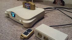 Heavily modified Nintendo 64. Switchless, remote, backlit, RGB N64 mod.