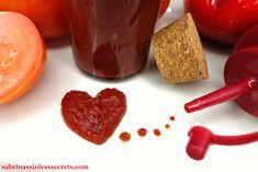 Quick & Easy Paleo Ketchup - Sabrina's Sinless Secrets Vegetarian Paleo, Vegan, Paleo Ketchup, Honey Mustard, Chocolate Fondue, Sugar Free, Food Processor Recipes, Clean Eating, Tasty