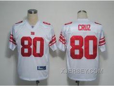 http://www.xjersey.com/cheap-nfl-new-york-giants-80-cruz-whitecruz.html CHEAP NFL NEW YORK GIANTS #80 CRUZ WHITE[CRUZ] Only 31.17€ , Free Shipping!