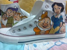 New Products : Hand Painted Canvas Shoes, Custom Canvas Sneakers Shoes, Painted Shoes Oline! Painted Converse, Painted Canvas Shoes, Hand Painted Shoes, Make Your Own Converse, High Top Sneakers, Shoes Sneakers, Canvas Sneakers, Disney Converse, Custom Converse Shoes