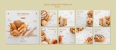 Publicación de redes sociales siempre fr... | Free Psd #Freepik #freepsd #comida #negocios #plantilla #redes-sociales Fresh Bread, Bakery, Social Media, Templates, Free, Stationary, Bamboo, Business, Creative