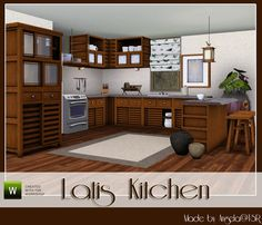 Latis Kitchen by Angela  http://www.thesimsresource.com/downloads/950701